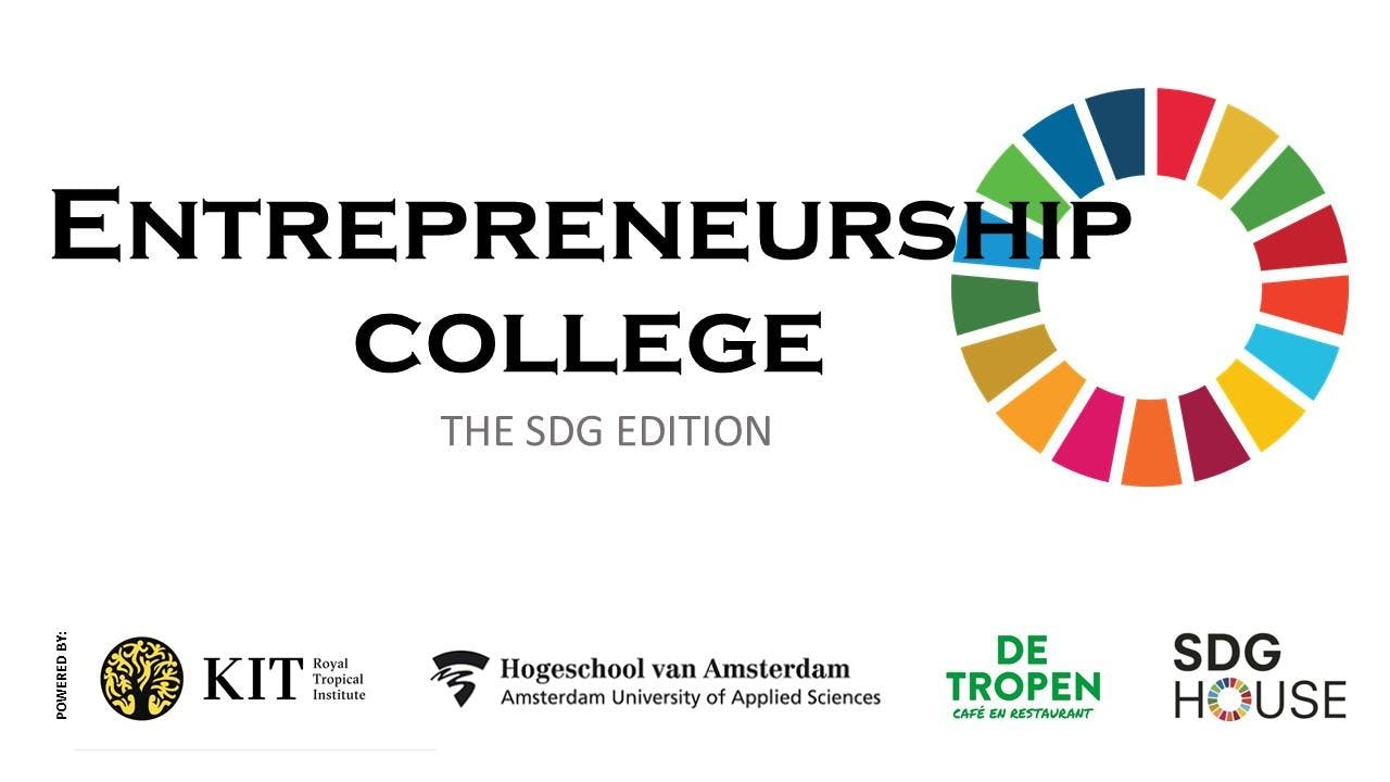 Entrepreneurship College - SDG 17: Partnerships for the Goals
