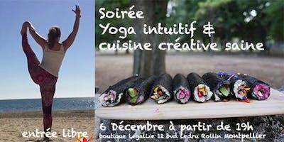 Soirée découverte Yoga intuitif et Cuisine créative