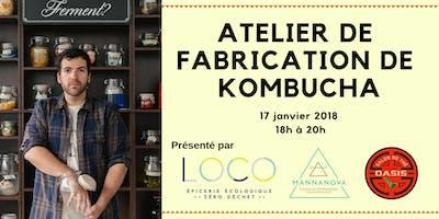 Atelier kombucha - Villeray