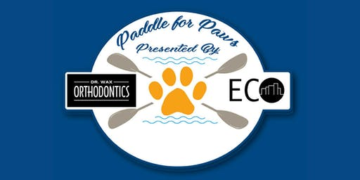 Dr. Wax Orthodontics Paddle for Paws Kayaking Event