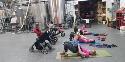 BabyFit Workout in the Brewery