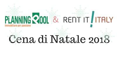Cena Aziendale Natale 2018, Planning Pool & Rent it Italy (RISERVATA SOLO CON INVITO)