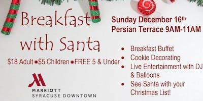 Breakfast with Santa in the Persian Terrace