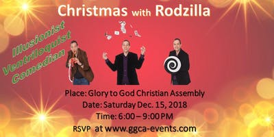 Christmas with Rodzilla (Illusionist, Ventriloquist and Comedian)