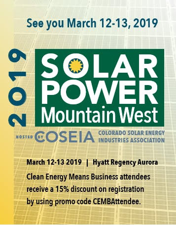 Solar Power Mountain West 2019