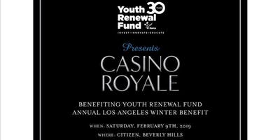 Youth Renewal Fund LA Benefit - Click below for Tickets & Sponsorships