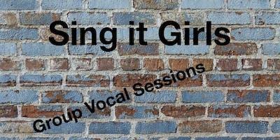 Sing it Girls! Hamilton