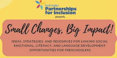 Small Changes, Big Impact! (a FREE pre-conference session at SCCEC)