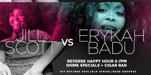 EATS BEATS & JAZZ -- JILL SCOTT VS ERYKAH BADU TRIBUTE // 3 DJs + FULL KITCHEN (THIS IS A TRIBUTE MRS SCOTT & BADU ARE NOT PREFORMING) THEY WILL NOT BE HERE