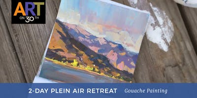 2 Day - En Plein Air Gouache Retreat with Instructor Tiffanie Mang