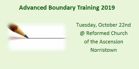 Advanced Boundary Training - October 22, 2019 tickets