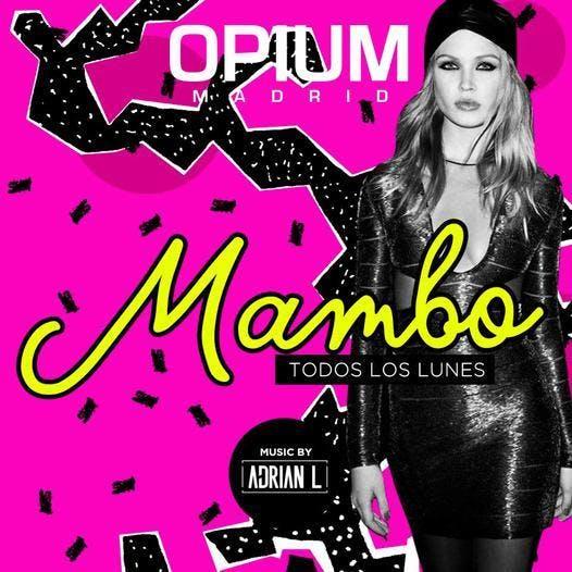 Monday Mambo at Opium Free Guestlist - 12/10/