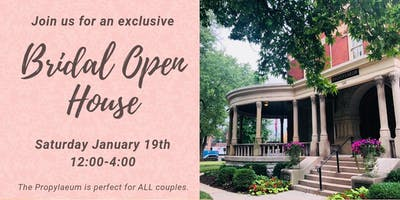 Bridal Open House at the Propylaeum
