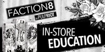 FACTION8 In-Store Education: Albuquerque, NM