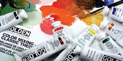 Acrylics A-Z Workshop  with GOLDEN Paints