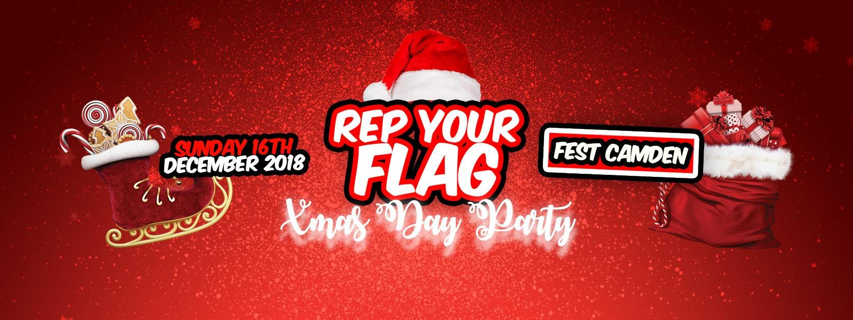Rep Your Flag Day Party - Xmas Edition