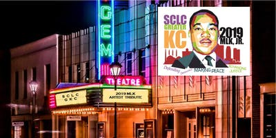EVENT POSTPONED TO JANUARY 19th-SCLC-GKC MLK 2019 Artist Tribute