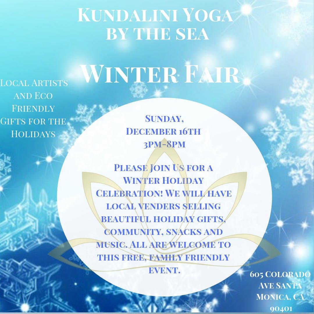 Kundalini Yoga By The Sea     ~ Winter Fair ~