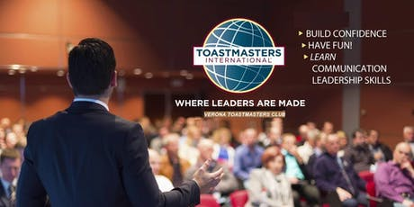 English Public Speaking with The Verona Toastmasters tickets