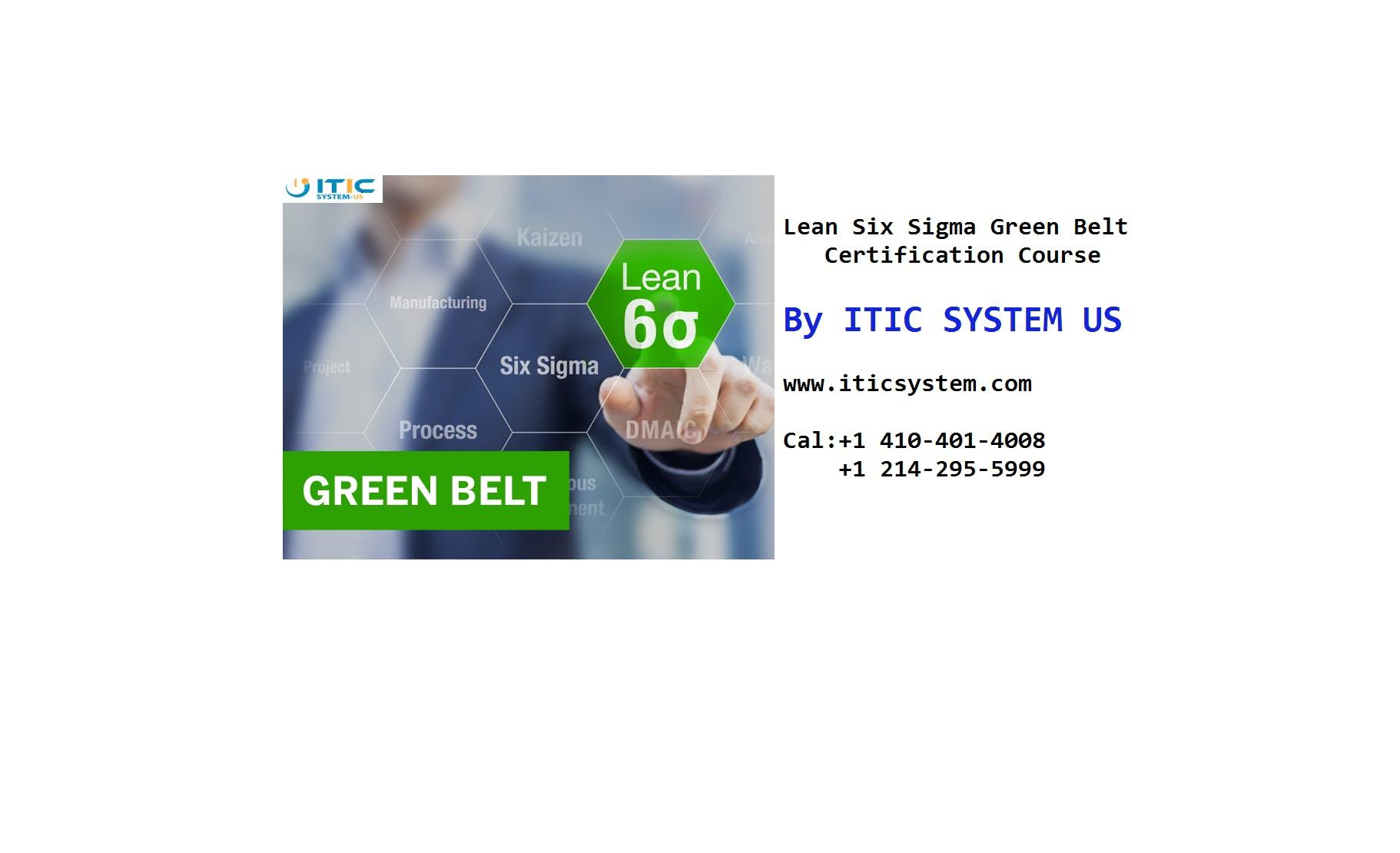Tallahassee Fl Lean Six Sigma Green Belt Certification Training
