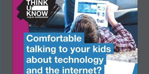 NEW DATE ThinkUKnow (cyber safety education for parents/carers)