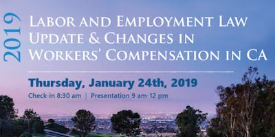 2019 Labor Law Critical Updates & Insurance Industry Expert Insight