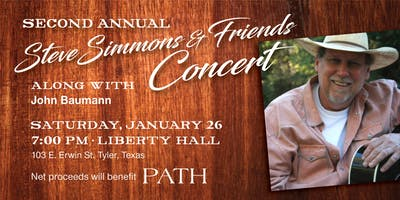 Steve Simmons and Friends in Concert (w/ Reserved Seating)