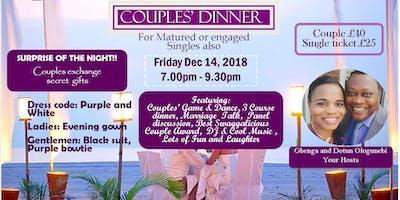 Christian Couples & Matured SinglesDinner