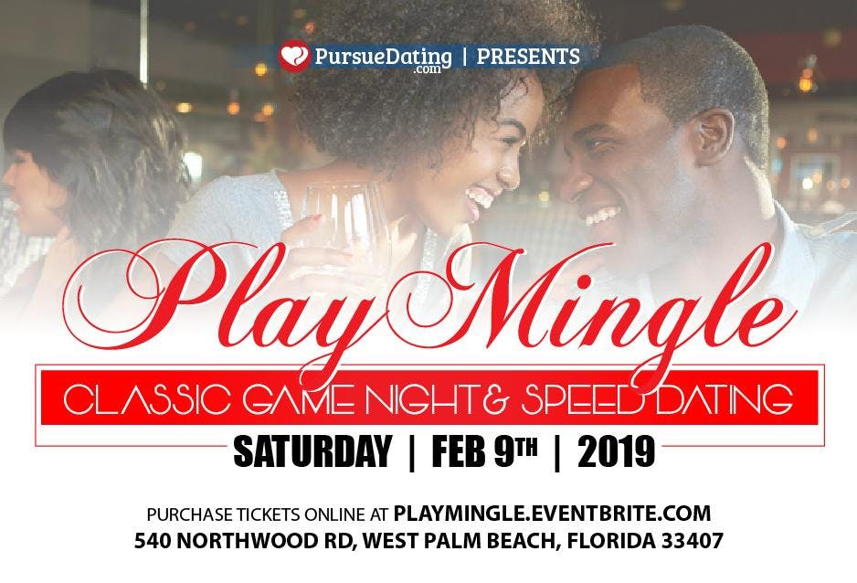 PlayMingle: Game Night & Speed Dating for Bla