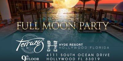 Rooftop Chic Full Moon Party Hyde Hotel Hollywood