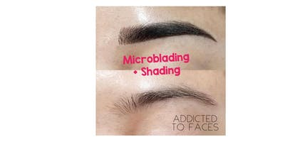 EYEBROW MICROBLADING + Shading combo TRAINING WORKSHOP- Los Angeles, CA
