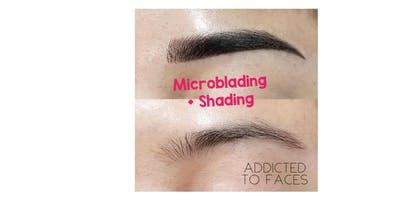 EYEBROW MICROBLADING + Shading combo TRAINING WORKSHOP- Los Angeles area, CA