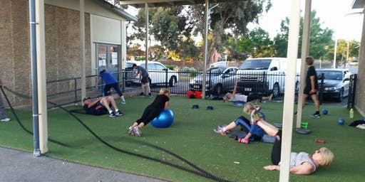 Warradale Warriors Group Outdoor Fitness
