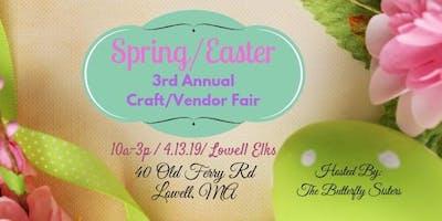 Spring/Easter 3rd Annual Craft/Vendor Fair