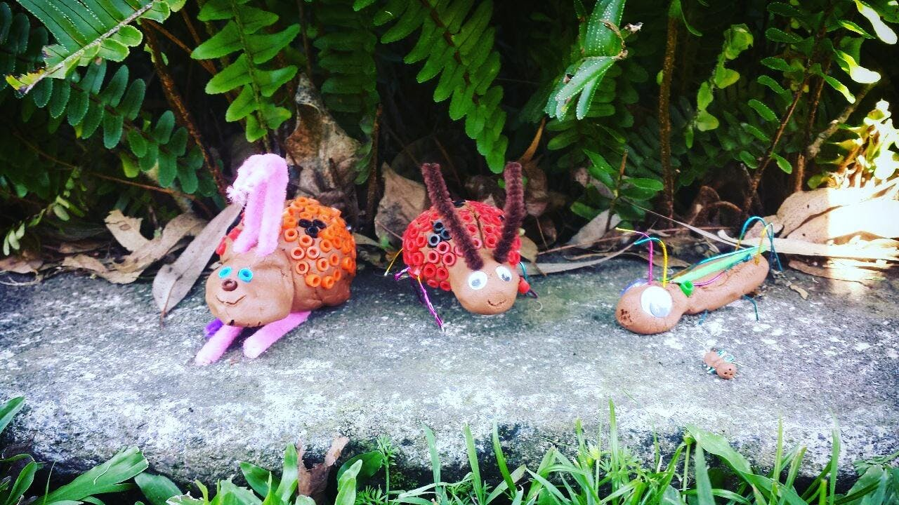 BCC Chill Out Program: Clay Bugs & Creepy Cra
