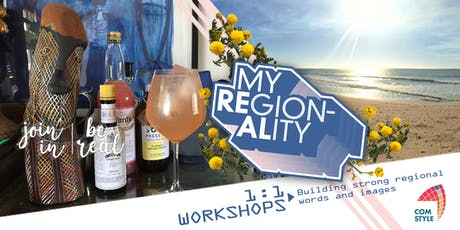 'My Regionality' 1:1 workshop:  Image making for attracting tourists tickets