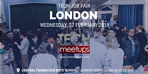 LONDON TECH JOB FAIR SPRING 2019
