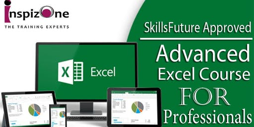 Learn Skill Future Approved Advanced Excel Course at Inspizone Trainings