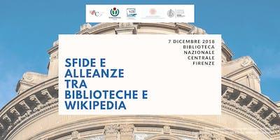 Sfide e alleanze tra Biblioteche e Wikipedia, 2018