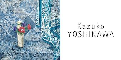 Vernissage - Exposition personnelle de Kazuko YOSHIKAWA