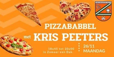 Pizzababel met Kris peeters