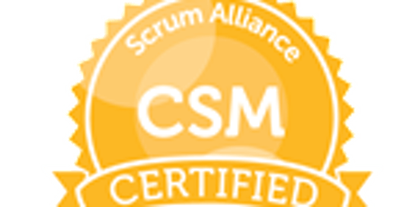 Certification Scrum Master Octobre 2019 billets