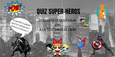 Quiz Super-héros