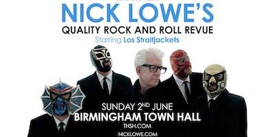 Nick Lowe & Los Straitjackets (Town Hall, Birmingham)