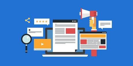 Content Marketing Beginners Training tickets