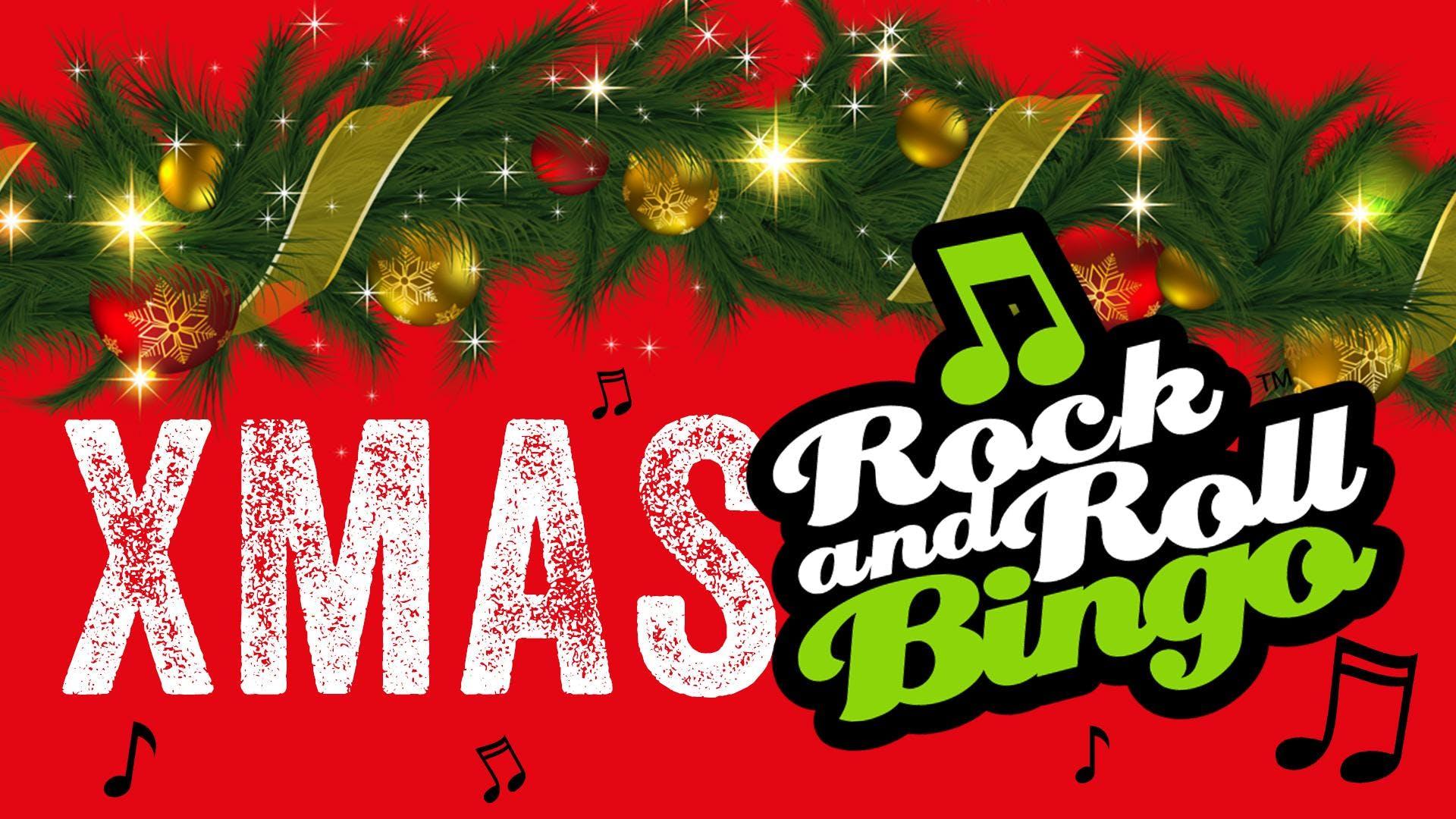 Christmas Rock and Roll Bingo