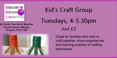 Kid Craft Group Crafternoons Tuesdays