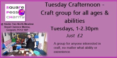 Tuesday - Members Crafternoons [£2]
