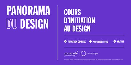 Cours d'initiation au design tickets