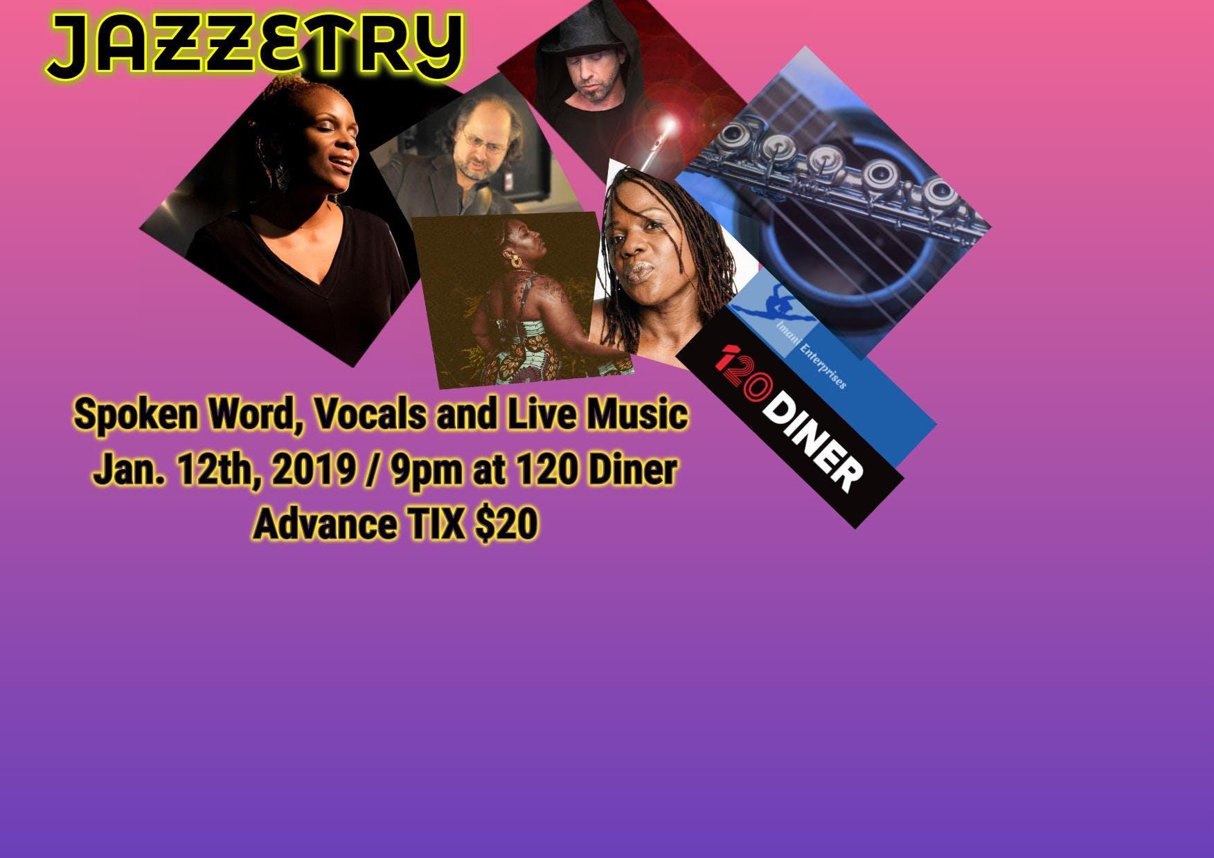 Imani Enterprises presents... JAZZETRY: Spoken Word Smooth Vocals & Music